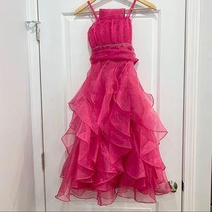 NWT Chic Baby Double Spaghetti Flower Girl Dress